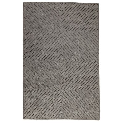 Hokku Designs Mirror Grey Rug