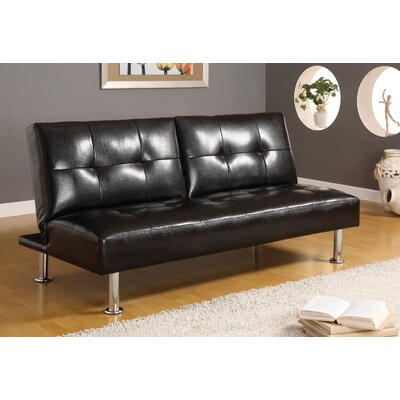Hokku Designs Coronado Leatherette Convertible Sofa
