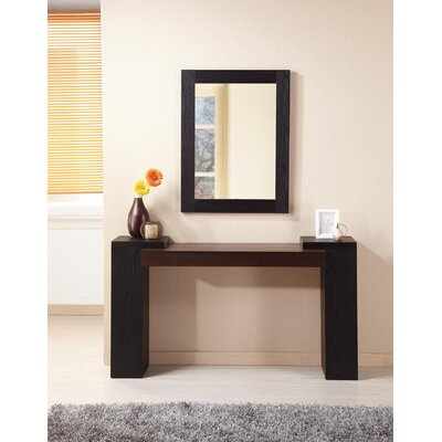 Hokku Designs Gray Harper Console Table | Wayfair