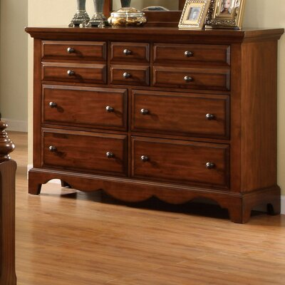 Sorrento 10 Drawer Dresser
