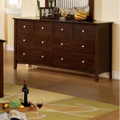 Hokku Designs Simpleton 8 Drawer Dresser