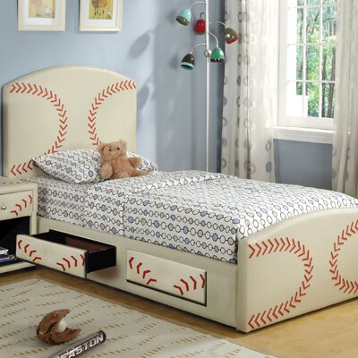 Hokku Designs Sports Fun Baseball Bed