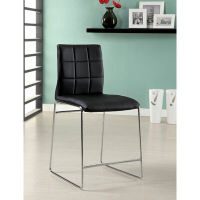 Hokku Designs Narbo Leatherette Counter Height Chair (Set of 2)