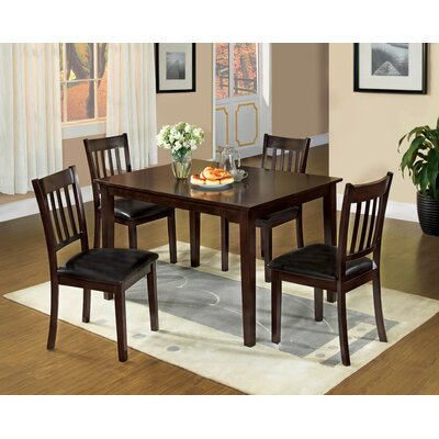 Hokku Designs Clarks 5 Piece Dining Set