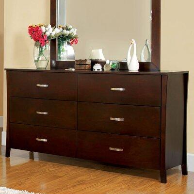 Brookville 6 Drawer Dresser