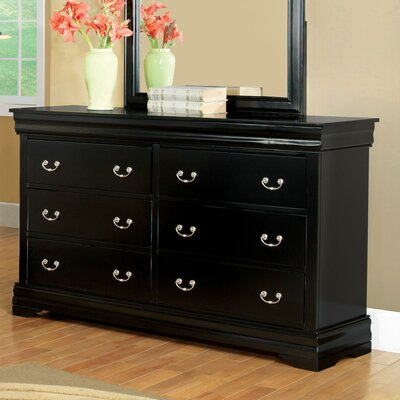 Hokku Designs Preston 6 Drawer Dresser