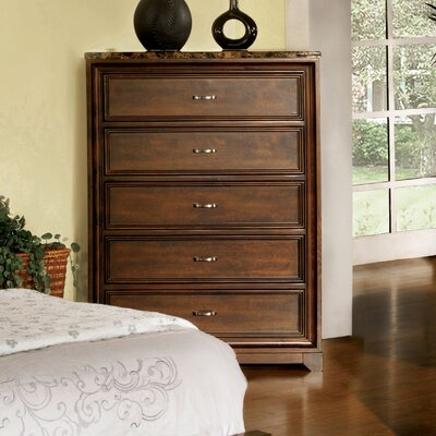 Hokku Designs Brunswick 5 Drawer Chest