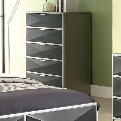 Hokku Designs Matrix 5 Drawer Chest