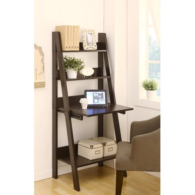 hokku designs stanton ladder style writing desk with shelves reviews wayfair