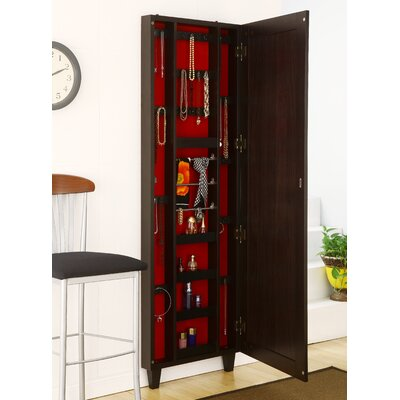 Hokku Designs Claire Wall Mounted Jewelry Armoire With