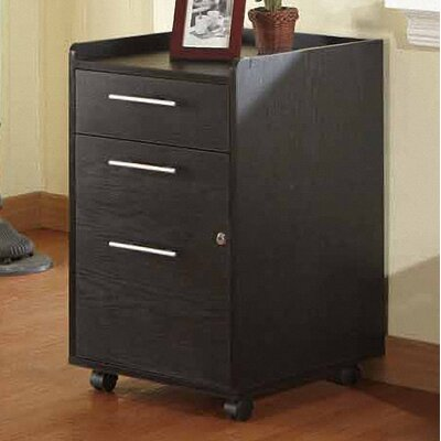 Hokku Designs Belmont 2 Drawer Rolling File Cabinet