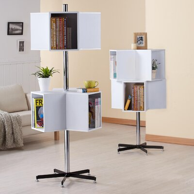 Chrome 6-Swivel Block Display Unit