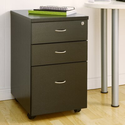 Hokku Designs Parson 2 Drawer Rolling File Cabinet