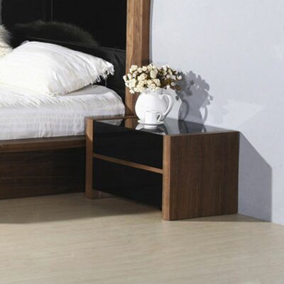 Hokku Designs Stark 2 Drawer Nightstand