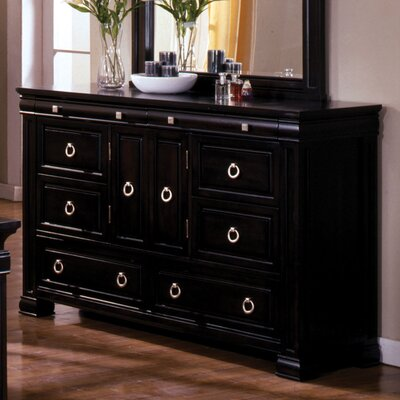 Hokku Designs Vanguard 6 Drawer Combo Dresser
