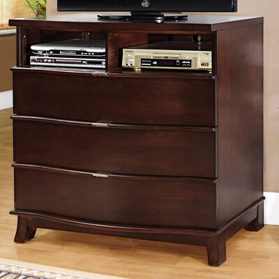 Hokku Designs Lenmoore 3 Drawer Dresser