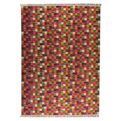 Hokku Designs Checkers Multi Rug
