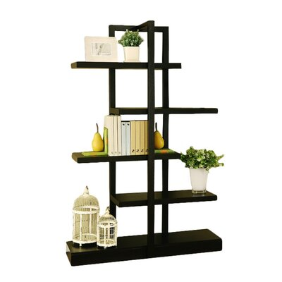 Hokku Designs Charity Display Stand/Bookcase in Rich Cappuccino