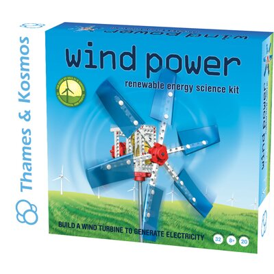 Thames & Kosmos Alternative Energy and Environmental Science Wind Power Kit