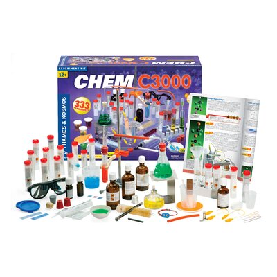 Thames & Kosmos Chem C3000 (2011 Edition) Advanced Chemistry Set