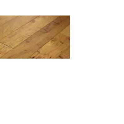 """Shaw Floors Brushed Suede 5"""" Engineered Hickory Flooring in Parchment"""