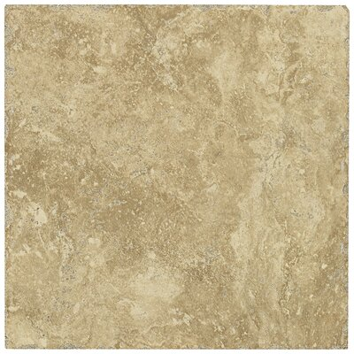 "Shaw Floors Piazza 13"" x 13"" Ceramic Tile in Cream"