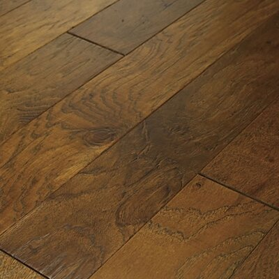 "Shaw Floors Brushed Suede 5"" Engineered Hickory Flooring in Sugarcane"