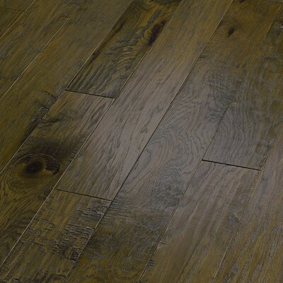 "Shaw Floors World Tour 5"" Engineered Handscraped Hickory Flooring in Passage"
