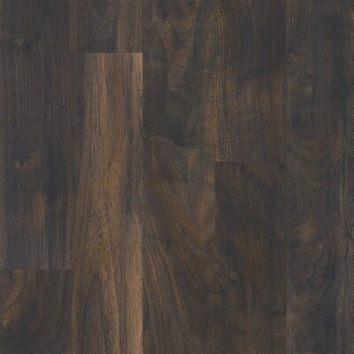 Shaw Floors FountainHead Lake 8mm Walnut Laminate in Mineral Springs Walnut
