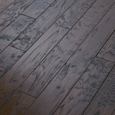 "Shaw Floors Epic Pebble Hill 3-1/4"" Engineered Hickory Flooring in Burnt Barnboard"
