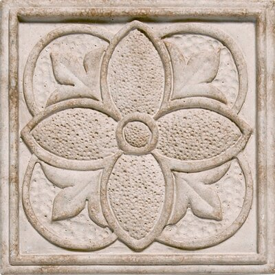 "Shaw Floors Corinthian 2"" x 2"" Insert Tile Accent in Sandstone"