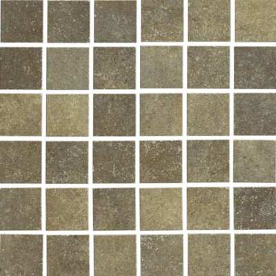 "Shaw Floors Brushstone 12"" x 12"" Mosaic Tile Accent in Mohave"