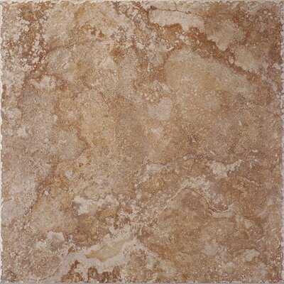 "Shaw Floors Capri 18"" x 18"" Floor Tile in Bronze"