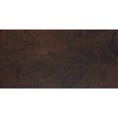 "Shaw Floors Domus 12"" x 24"" Floor Tile in Brownstone"