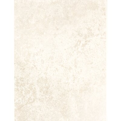 "Shaw Floors Padova 10"" x 13"" Wall Tile in Blanco"