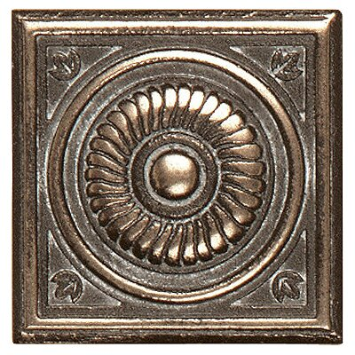 "Shaw Floors Metal Scudo Insert 2"" Tile Accent in Bronze"