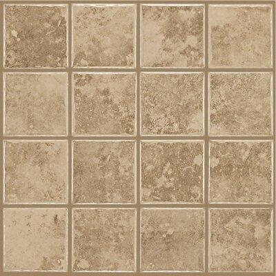 Shaw Floors Colonnade Ceramic Floor Tile in Coffee