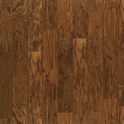 "Shaw Floors Vicksburg 4-7/8"" Engineered Hickory Flooring in Cider"
