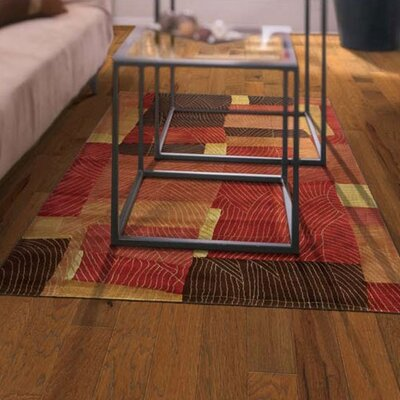 "Shaw Floors Jubilee Honey 3-1/4"" Engineered Hickory Flooring in Spice"