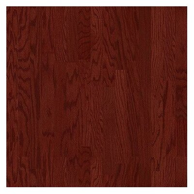 "Shaw Floors Epic Symphonic 3-1/4"" Engineered Oak Flooring in Merlot"