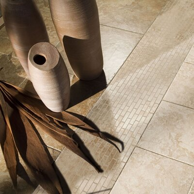 "Shaw Floors Capri 12"" x 12"" Floor Tile in Limestone"