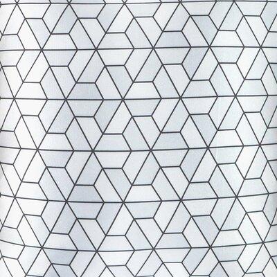 NECTARmodern Triangles Modern Printed Throw Pillow Cushion
