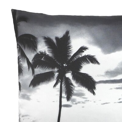NECTARmodern Tropic Hawaii Palm Tree Printed Throw Pillow