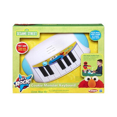 Hasbro Sesame Street Playskool Let's Rock Cookie Monster Keyboard