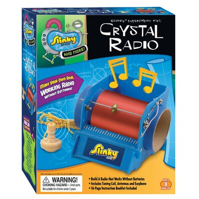 Slinky Science and Activity Kits Crystal Radio