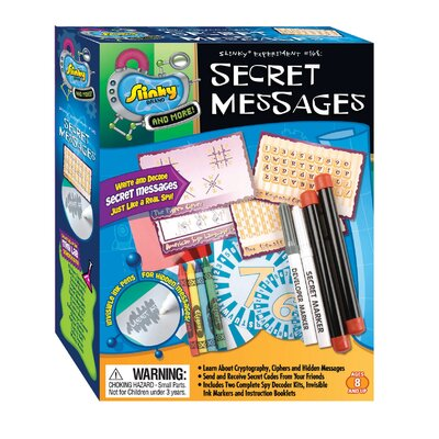 Slinky Science and Activity Kits Secret Messages
