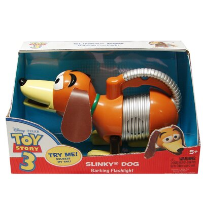 Slinky Slinky Dog Barking Flashlight Toy