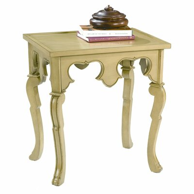 HeatherBrooke Furniture Pistachio Pudding End Table