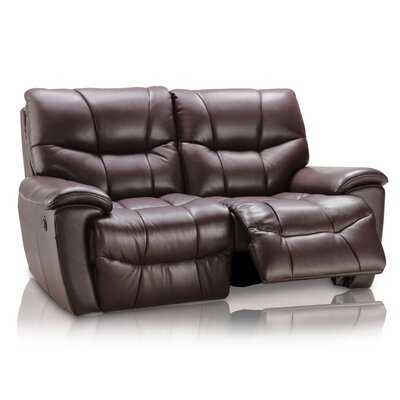 CREATIVE FURNITURE Solana Leather Reclining Loveseat