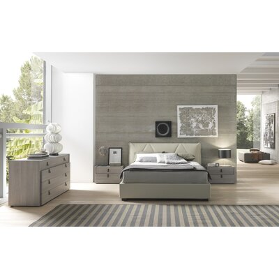 Esprit queen platform bedroom collection wayfair for Creative bedroom furniture